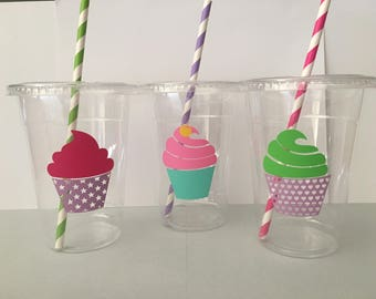 Cup Cake Party Cups