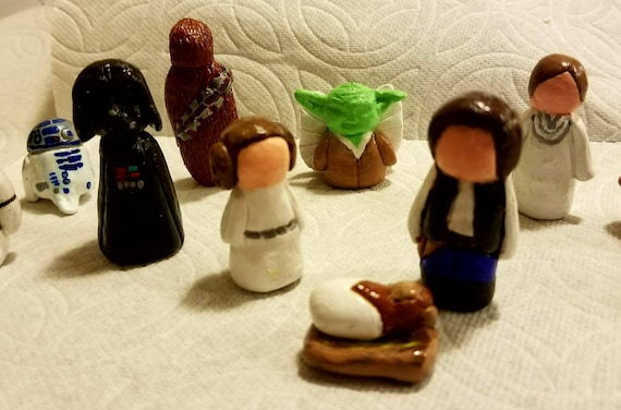 Star Wars Nativity Set