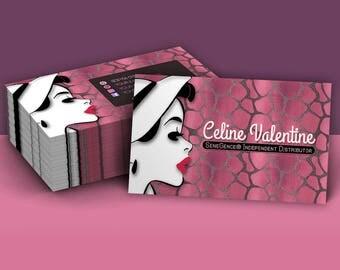 LipSense Business Cards, LipSense How To Apply, LipSense Tips and Tricks, What is Lipsense, LipSense distributor, lipsense card, custom card