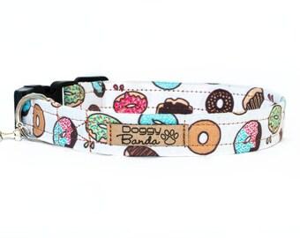 Donut Dog Collar Sweet Funny Dog Collar Homer Food Dog Collar Holiday Cookie Dog Collar Doughnuts Yummy Dog Collar Trendy Gift for Foodie