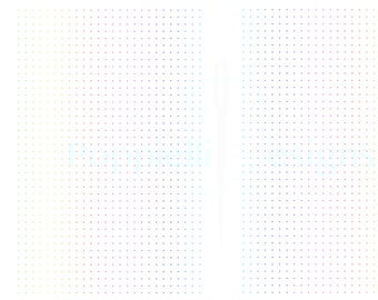 RAINBOW printable dot grid paper SIZE A5