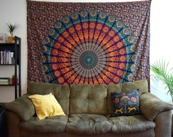 Tapestry / Wall Tapestries / Mandala Tapestry / Tapestry Wall Hanging / Bohemian Wall Tapestries / Boho Decor / Bohemian Decor / Queen Size