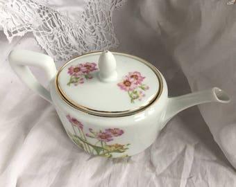 Beatufull bavaria floral teapot / bavaria 4 cup teapot