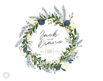 Custom Logo Design, Wedding Monogram, Wedding Logo, Photography Logo, Floral Logo, Monogram Logo, Personalized Logo, Business Logo, #BGW