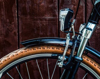 Vintage Bicycle - Brown - Neutral Wall Art - Vintage - Bike Photography -  Fine Art Photography - Photography Print