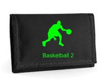 Basketball Dribbler Ripper Wallet