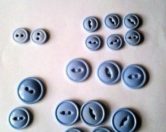 Choice of two Vintage Blue Button Bundles