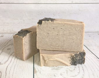 Poppy Punch Soap - All Natural, Handmade, Cold Process, Vegan Soap (Coconut Free)