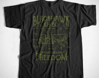 T-Shirt black hawk