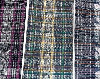 Guatemalan Fabric Samples, Light Weight