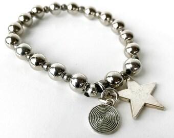 Silver Star - Bracelet
