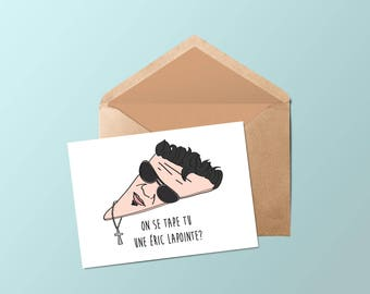 The boy card Eric lapointe • •