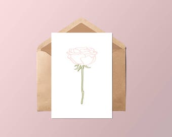 The pink card •
