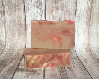 Cinnamon Pumpkin Soap, Autumn Soap, Fall Scented Soap, Falling Leaves Soap, Hostess Gift, Holiday Soap, Autumn Leaves Soap