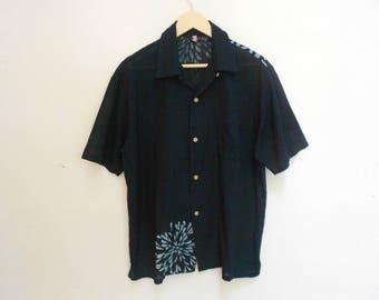 japanesse design hawaii shirt made in japan sun surf kamehameha kalakaua land of aloha