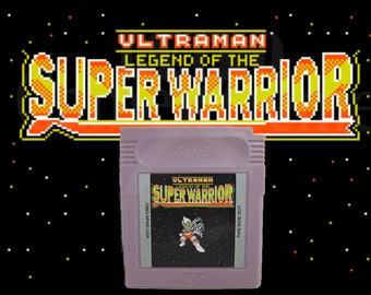 Ultraman Legend of the Super Warrior fan made English translation gbc Gameboy Color Game Boy