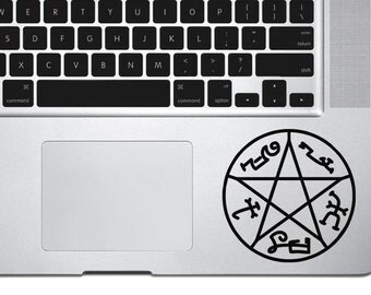 Supernatural Devils trap Symbol Decal,Devils trap Sticker,Devils trap Decal,Macbook decal, wall sticker, car decal, iphone decal