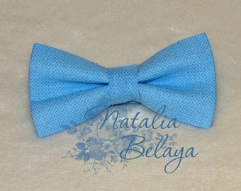 Bowtie. Pre-tie Bow tie. Blue Bow tie . Bow tie  for mens and boys. Gift for men and boy.  Baby boy gift. Birthday gift. Baby shower gift.