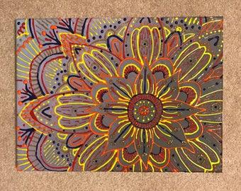 Colorful Mandala Canvas