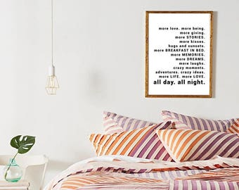 bedroom decor tumblr. Adventure Print  Tumblr Room Decor Quotes Bedroom Positive Printable Art room decor Etsy
