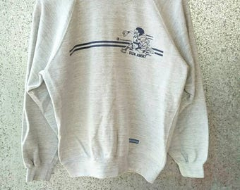 Vintage Champion sweatshirt Champion Products USA RUN AWAY edition crew neck jumper pull over size L