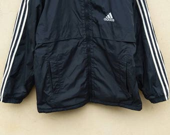 Vintage Adidas Jacket / Adidas water proof / Adidas windbreaker / Adidas outwear Adidas Equipment / Adidas zipper jacket
