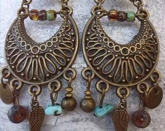 Bohemian chic earrings