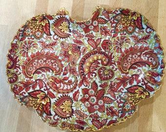 James Kent Ltd vintage old foley plate