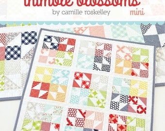Sale Mini Little Star Quilt Pattern by Camille Roskelley for Thimble Blossoms