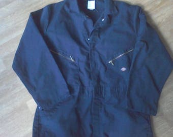 Coveralls, Dickie, Size  Large  overalls, mechanic's coveralls, Blue, Costume, jumpsuit,
