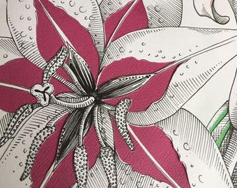 Original Artwork Lilies