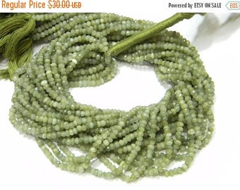 on sale Super fine quality cats eye Micro Faceted roundel 14 inch strand 3-3.5 mm approx