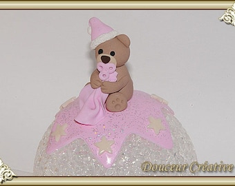 Light pink Teddy bear baby 204005