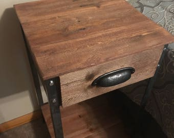 Side Table with Drawer (Shipping Included