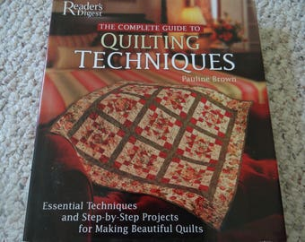 Quilting Techniques by Reader's Digest