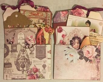 Junk journal pockets