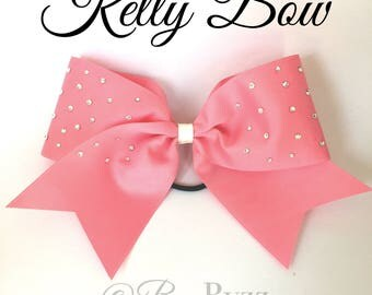 Kelly Swarovski Cheer Bow