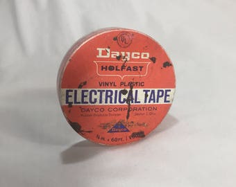 Dayco Electrical Tape Tin, Vintage Advertising Container