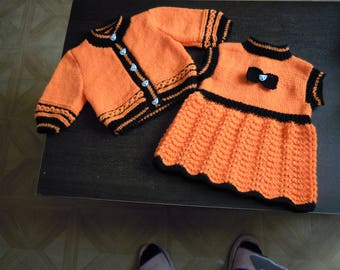 dress and vest two-tone 3 months