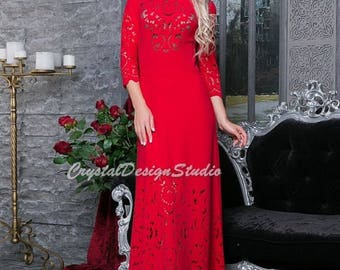 S-5XL Red Floor length dres Maxi dress Prom Dress Cocktail Dress plus size Party dress electric blue Evening dress Holiday dress