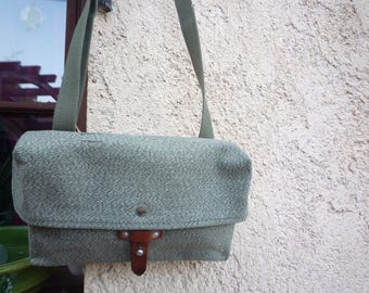 Small cotton shoulder bag