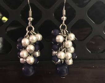 Cluster Dangle Earrings