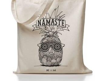 Holi Namast-Jute Bags