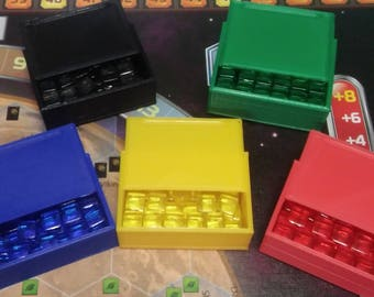 Terraforming Mars Game Gear : Player Cube Box  Set of 5