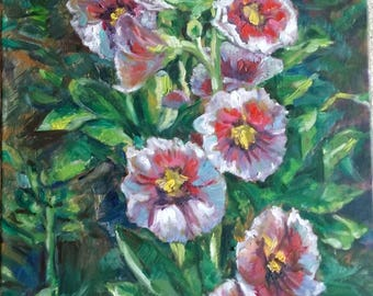"Original Oil Painting, Flower 2, 20""x16"",170834"