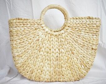 Nova Woven Basket Handbags and Hand Woven Grass Bag - Free Shipping