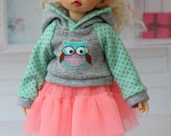 Outfit for BJD - Hoody for LittleFee by Fairyland