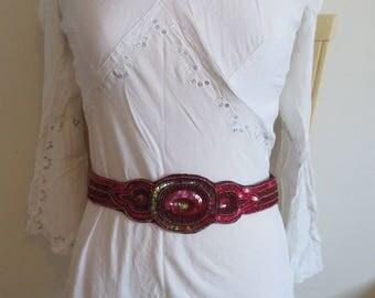 oriental style red belt