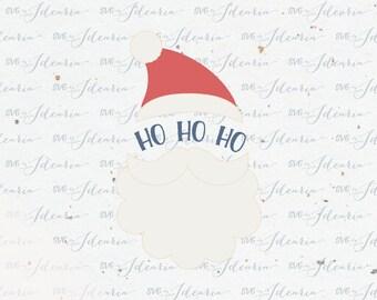 Ho Ho Ho Santa svg svg Santa christmas svg svg christmas svg christmas svg file Santa svg vinyl design silhouette cricut svg svg files dxf