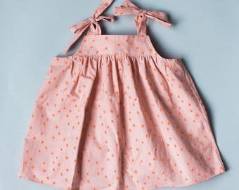 Baby/Toddler Tie Top 0-3M , 3-6M,  6-9M . 9-12M, 12-18M, 18M-24M, 2T, 3T, 4T, 5T